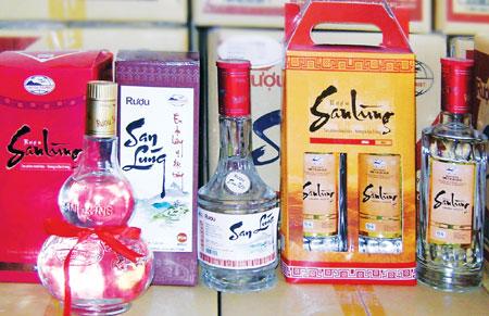 Rượu Shan Lùng Sapa