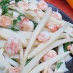 Du lịch Tuần Châu ăn tôm xào măng